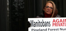 Pineland Petition Delivered to Minister