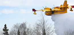 Pallister Government Privatizes Water Bombers