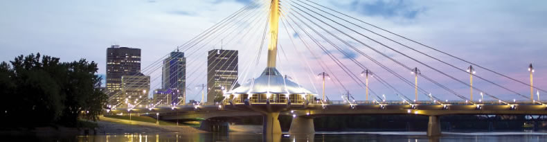 Provencher Bridge and Skyline