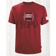 1919 Unisex Short Sleeve Red T-Shirt - MGEU