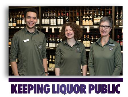 Keeping liquor public image