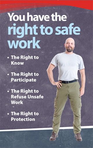 Image you have the right to safe work