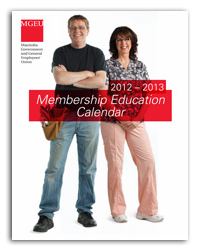 MGEU manitoba government and general employees' union education guide