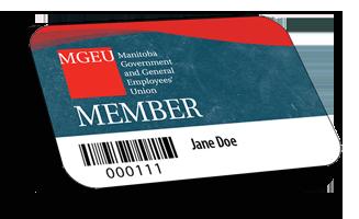 MGEU Membership card
