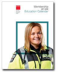 Member Education Calendar 2017-18