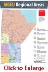 MGEU Regional Area Map