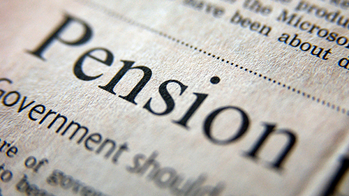 Pension-newsprint