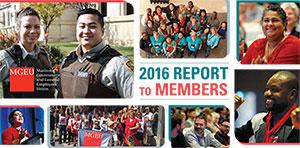 2016 MGEU Report to Members