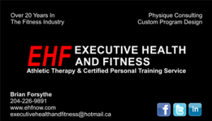 Executive Health and Fitness Personal Training Service