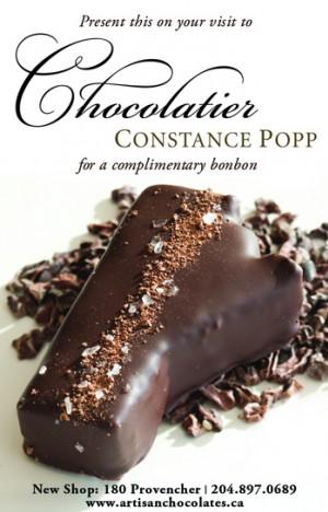 Chocolatier Constance Popp