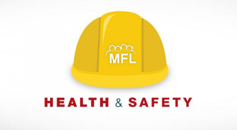 MFL Health and Safety with hard hat