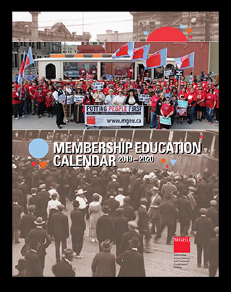Cover of 2019-2020 Membership Education Calendar