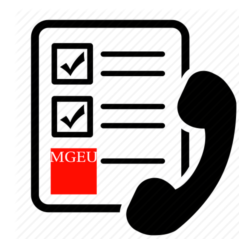 MGEU phone survey icon