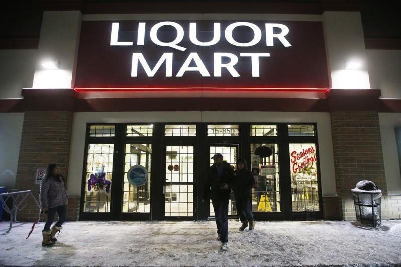 Winnipeg Liquor Mart Exterior