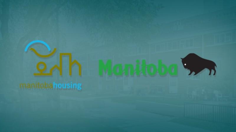 Manitoba Housing Logo and Manitoba Logo
