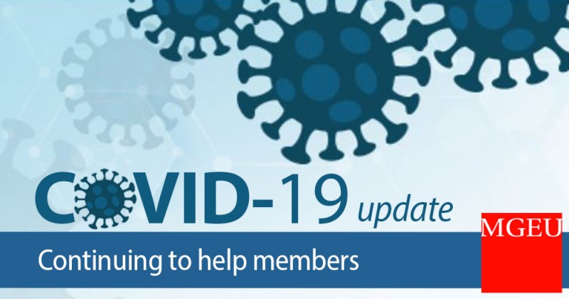 COVID-19 update - continuing to help members