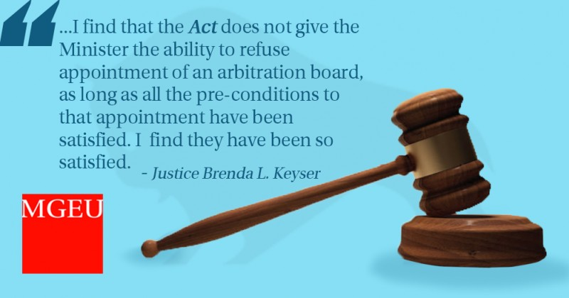 Justice Keyser quote
