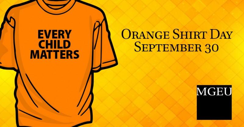 Every Child Matters - Orange shirt day