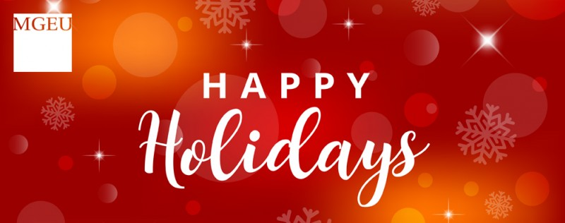 Happy Holidays from the MGEU