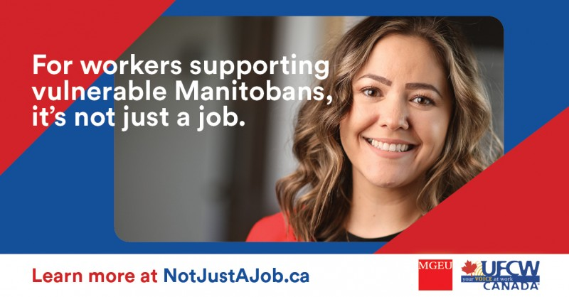 For workers supporting vulnerable Manitobans, it's not just a job