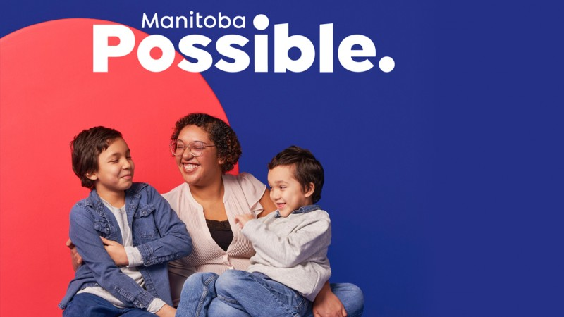 Manitoba Possible with woman and children