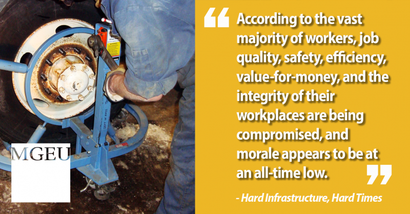 Quote from Hard Infrastructure, Hard Times report author