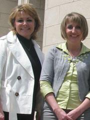 Pat Ward and Sandra Bornn